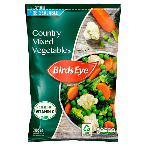 Picture of Birds Eye Country Mixed Vegetables 690g
