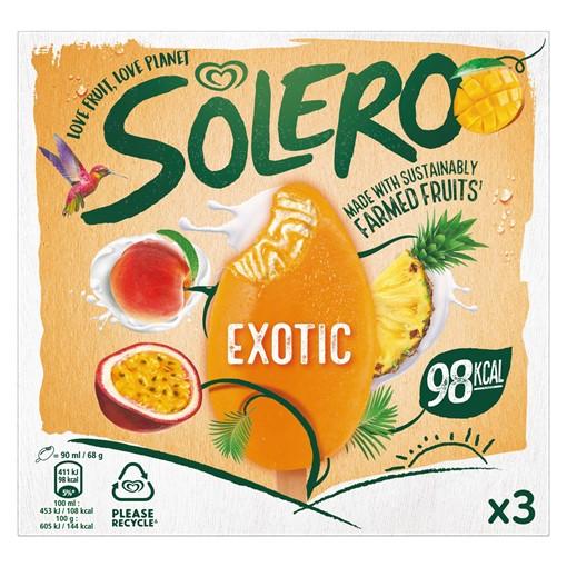 Picture of Solero Exotic Ice Cream 3 x 90 ml