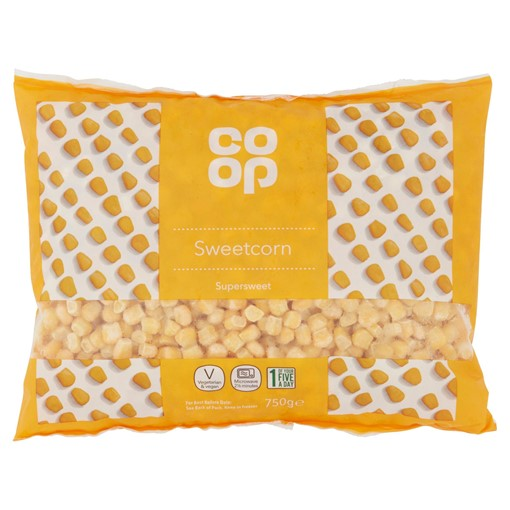 Picture of Co-op Supersweet Sweetcorn 750g