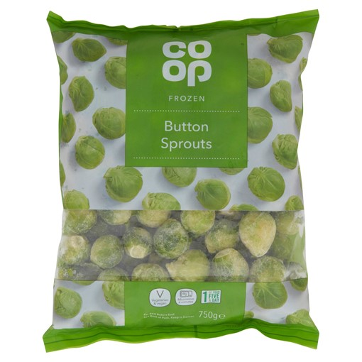 Picture of Co Op Frozen Button Sprouts 750g