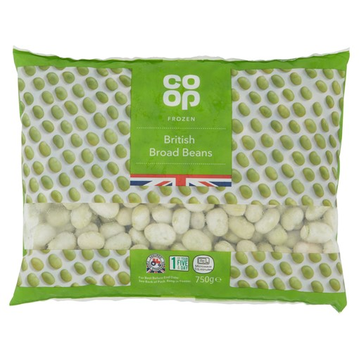 Picture of Co Op British Broad Beans 750g