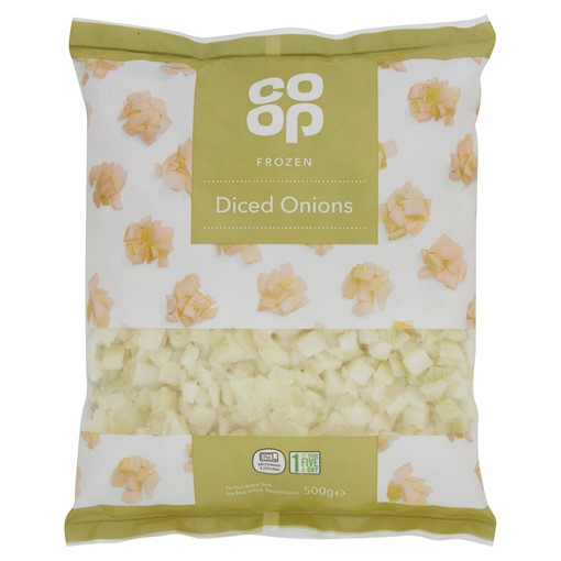 Picture of Co-op Frozen Diced Onions 500g