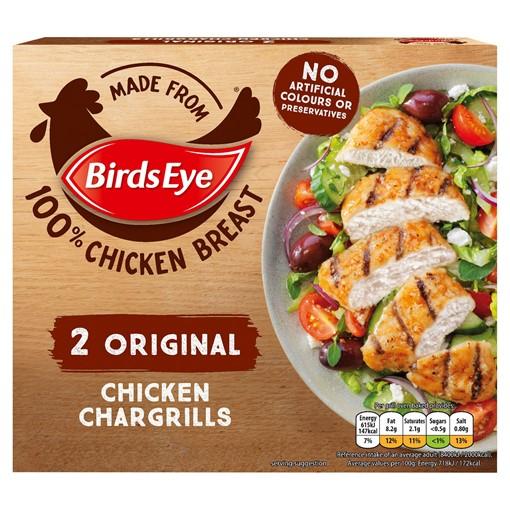 Picture of Birds Eye 2 Original Chicken Chargrills 170g