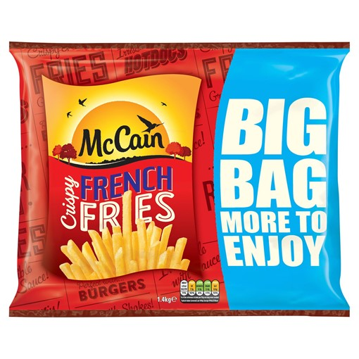 Picture of McCain Crispy French Fries 1.4kg