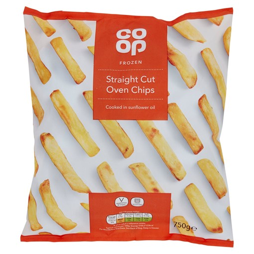 Picture of Co-op Frozen Straight Cut Oven Chips 750g