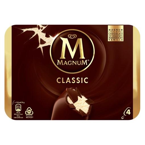 Picture of Magnum Classic Ice Cream 4 x 110 ml