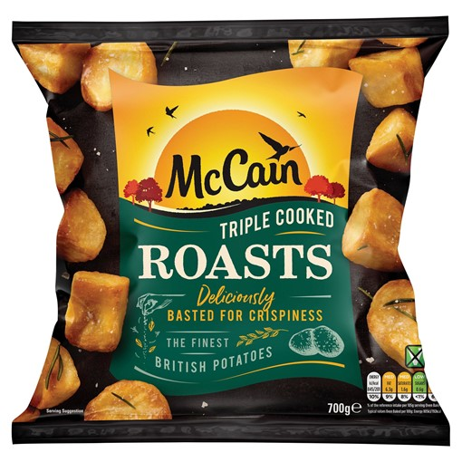 Picture of McCain Roast Scrumptiously Crispy and Fluffy 800g