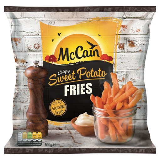 Picture of McCain Crispy Sweet Potato Fries 500g