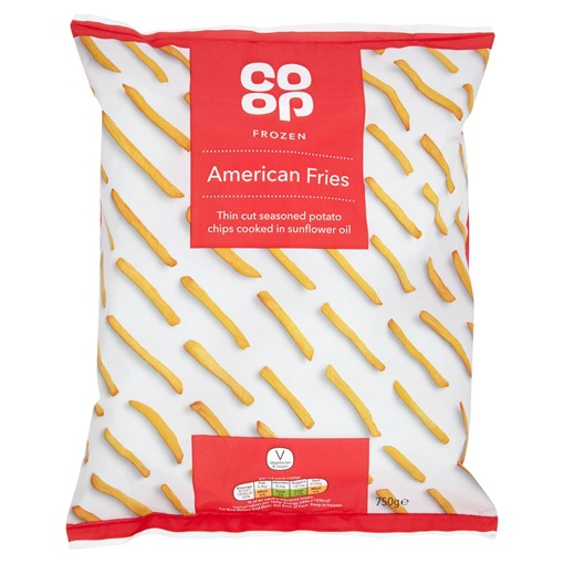 Picture of Co Op Frozen American Fries 750g