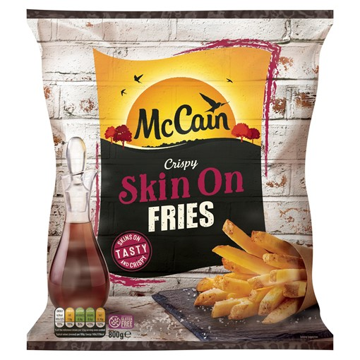 Picture of McCain Crispy Skin On Fries 800g
