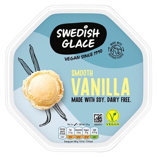 Picture of Swedish Glace Smooth Vanilla Ice Cream 750 ml