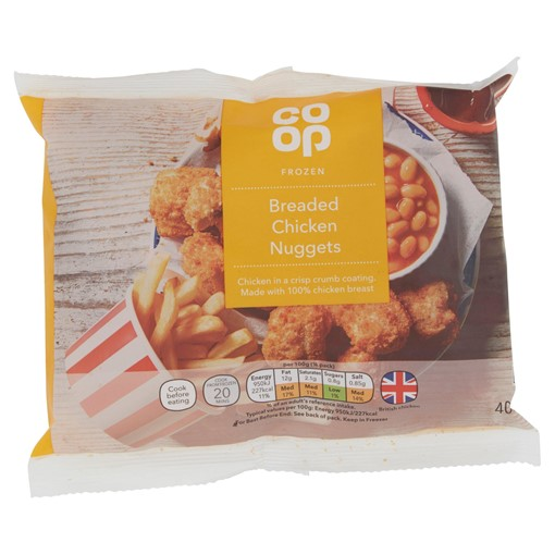 Picture of Co-op Breaded Chicken Nuggets 400g