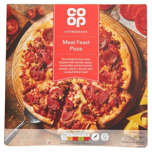Picture of Co Op Sourdough Meat Feast Pizza 382g