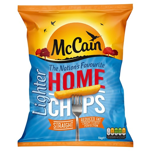Picture of McCain Home Chips Lighter Straight 1kg