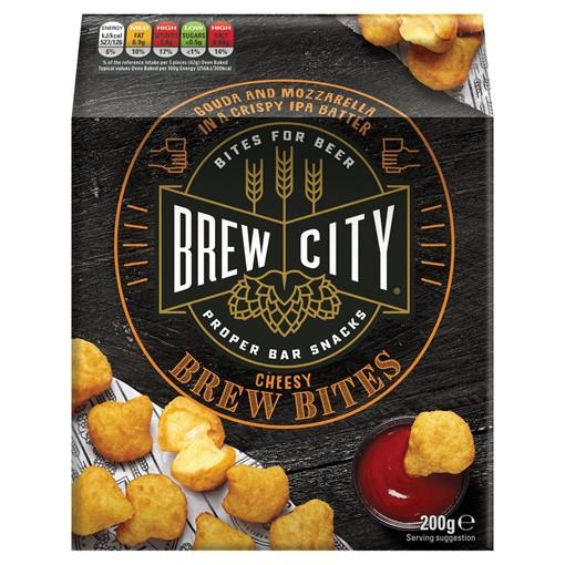 Picture of Brew City Mozzerella Gouda Cheese Bites 200g