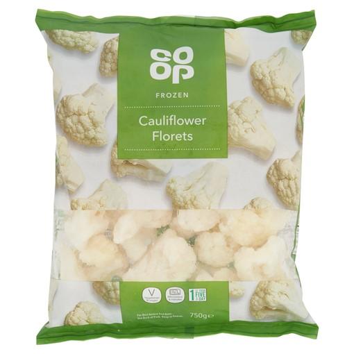 Picture of Co Op Frozen Cauliflower Florets 750g