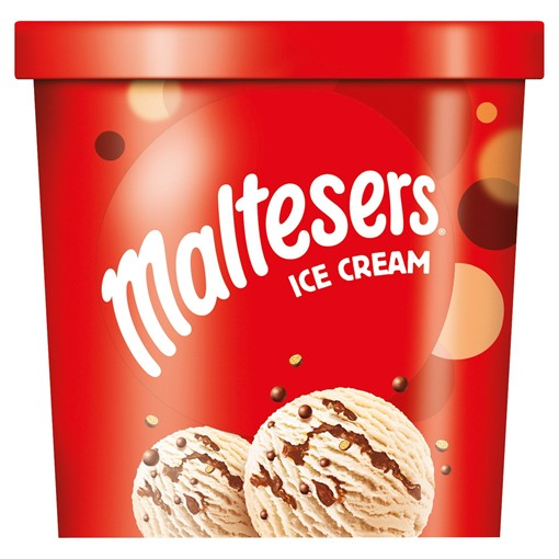 Picture of Maltesers Chocolate Ice Cream Tub 500ml