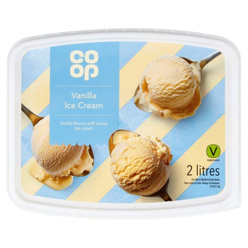 Picture of Co-op Vanilla Ice Cream 2 Litres