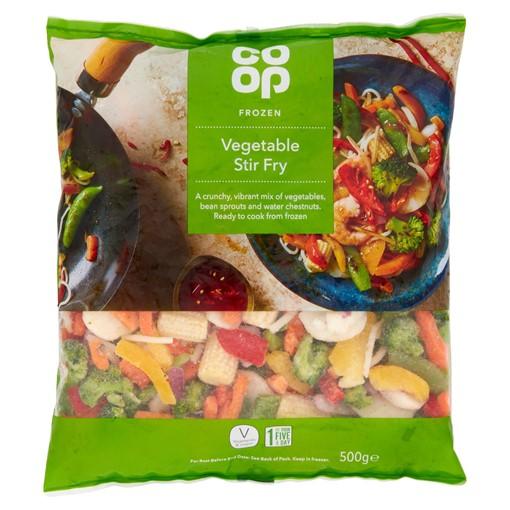 Picture of Co-op Frozen Vegetable Stir Fry 500g