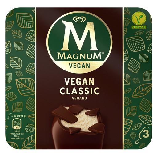 Picture of Magnum Classic Ice Cream 3 x 90 ml