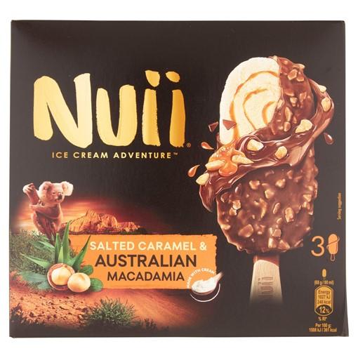 Picture of Nuii Salted Caramel & Australian Macadamia Ice Cream 3x90ml