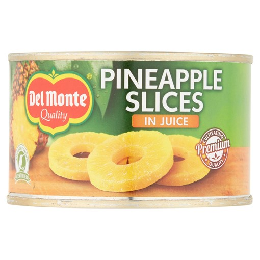 Picture of Del Monte Pineapple Slices in Juice 220g