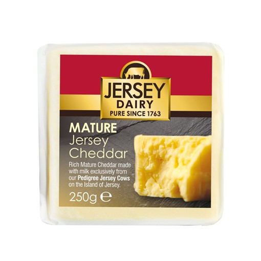 Picture of Jersey Mature Chedda Cheese 250g