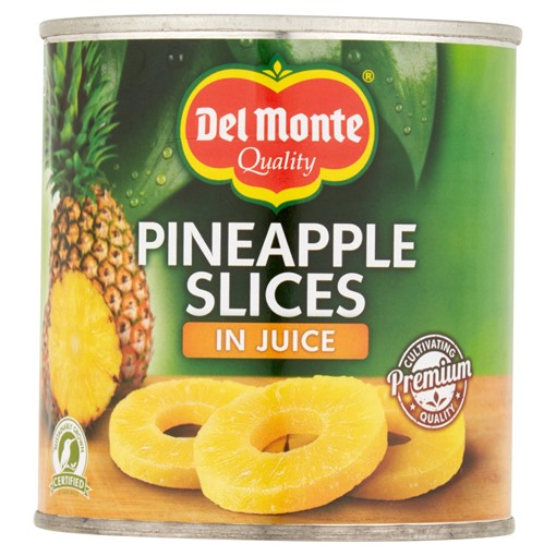 Picture of Del Monte Pineapple Slices in Juice 435g