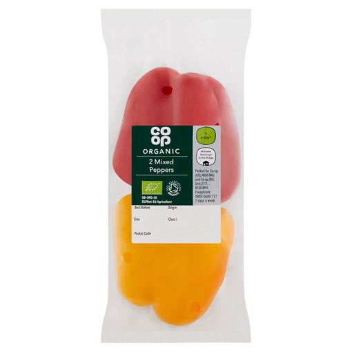 Picture of Co-op 2 Organic Mixed Peppers