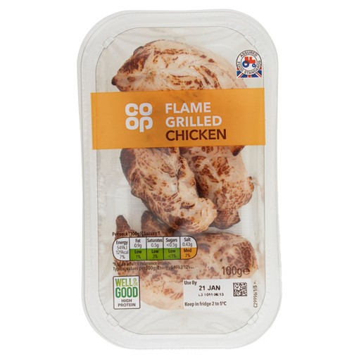 Picture of Co-op Flame Grilled Chicken 100g