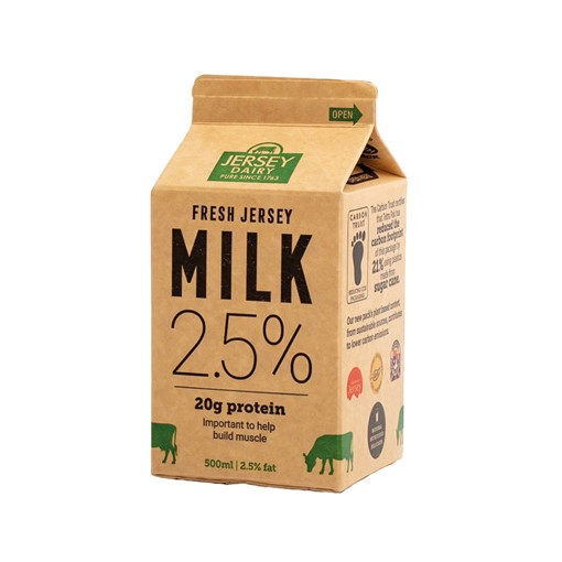 Picture of Jersey Green Fat Reduced Milk 500ml
