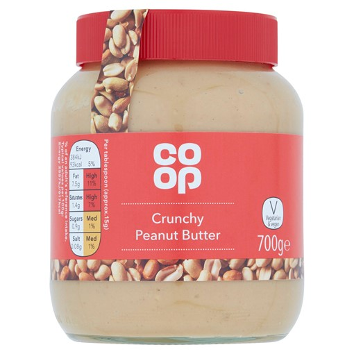 Picture of Co-op Crunchy Peanut Butter 700g