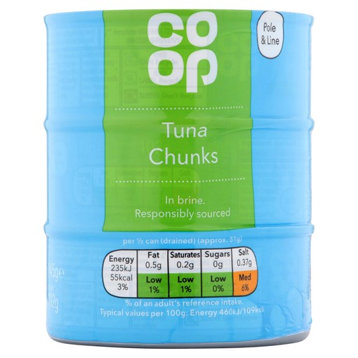 Picture of Co-op Tuna Chunks in Brine 3 x 145g