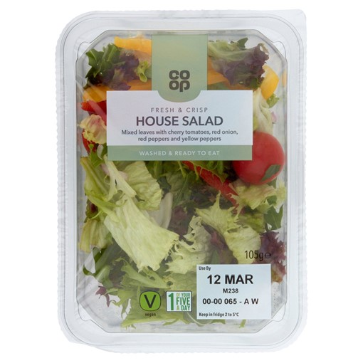 Picture of Co-op House Salad 105g