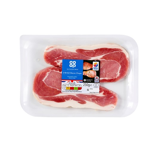 Picture of Co-op Bacon Chop 250G