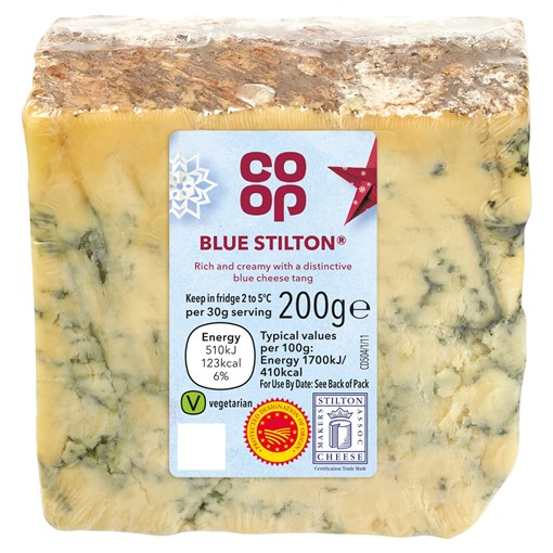Picture of Co-op British Blue Stilton 200g