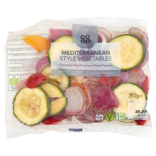 Picture of Co-op Mediterranean Style Vegetables 300g