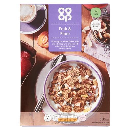 Picture of Co-op Fruit & Fibre 500G