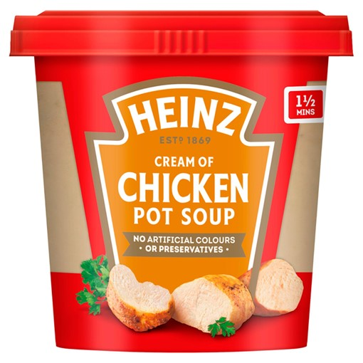 Picture of Heinz Cream of Chicken Pot Soup 355g