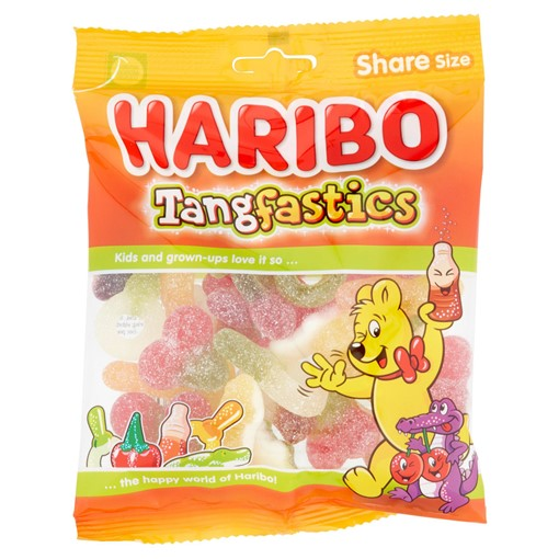 Picture of HARIBO Tangfastics Bag 175g
