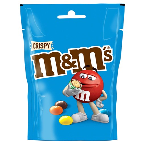 Picture of M&M's Crispy Chocolate Pouch Bag 107g