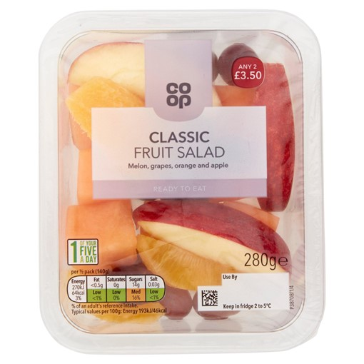 Picture of Co-op Classic Fruit Salad 280g