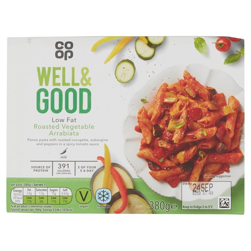 Picture of Co-op Well & Good Roasted Vegetable Arrabiata 380g