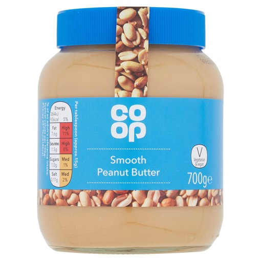 Picture of Co-op Smooth Peanut Butter 700g