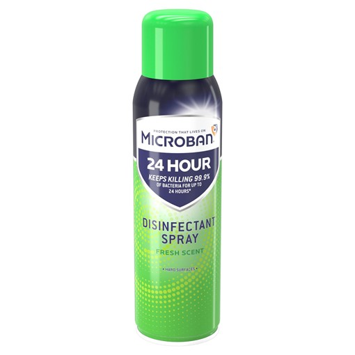 Picture of Microban Antibacterial Disinfectant Spray Fresh 400ML