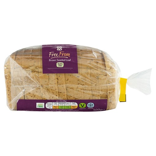 Picture of Co-op Free From Brown Seeded Loaf 500g