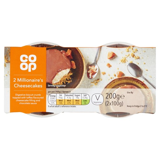 Picture of Co-op Millionaire's Cheesecake 2X10