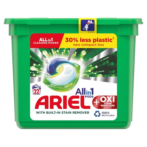 Picture of Ariel Allin1 Pods Washing Capsules +OXI 22 Washes