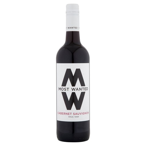 Picture of Most Wanted Cabernet Sauvignon 75cl