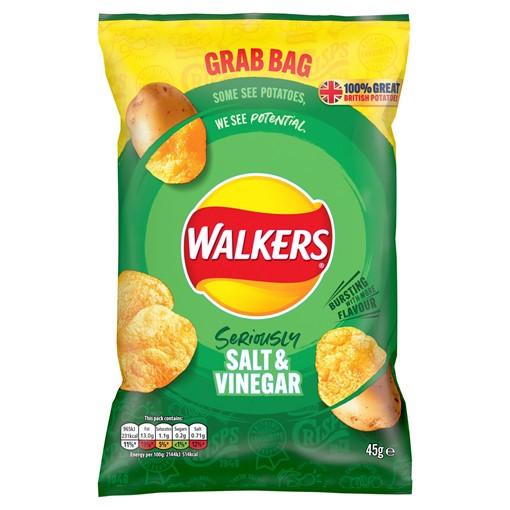 Picture of Walkers Salt & Vinegar Crisps 45g